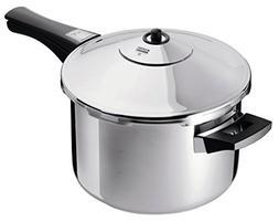 Kuhn Rikon Duromatic Stainless-Steel Saucepan Pressure Cooke