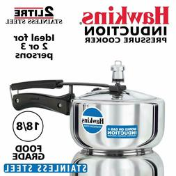 NEW Hawkins 2 Liter Stainless Steel Pressure Cooker