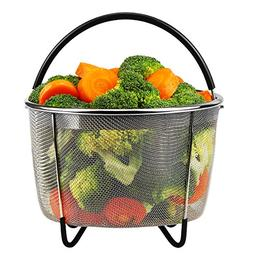 Steamer Basket for Instant Pot Accessories 6 or 8 quart Pres
