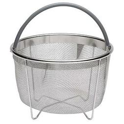 717 Industries Steamer Basket, Stainless Steel Mesh Strainer