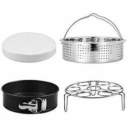 """Steamer Basket, Egg Rack Holder, 7"""" Non-stick Springform Cak"""