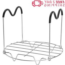 Steamer Rack Trivet With Handles for Instant Pot Accessories
