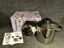 Kuhn Rikon Switzerland Duromatic 7 Lt Pressure Cooker - New