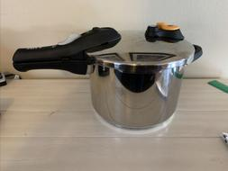 T-fal 6.3qt 6L Stainless Steel Pressure Cooker Induction Ele