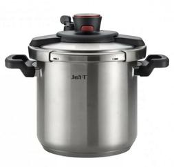 T-fal P45009 Clipso Pressure Cooker 8 Quart Stainless Steel