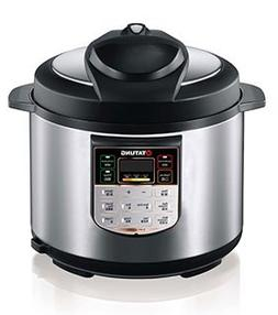 Tatung TPC-5L 5L Pressure Cooker with Inner Pot - Stainless
