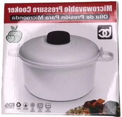 Tupperware Microwave Pressure Cooker w/measuring Cup And Pla