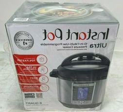 Instant Pot Ultra 60 Ultra 6 Qt 10-in-1 Multi- Use Programma