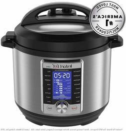 Instant Pot Ultra 8 Qt 10-in-1 Multi- Use Programmable Press