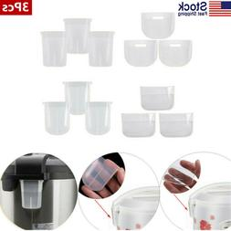 US 3Pcs Rice Cooker Steam Collection Cup Pressure Cooker Con