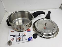 USED Prestige 3L Alpha Deluxe Induction Base Stainless Steel