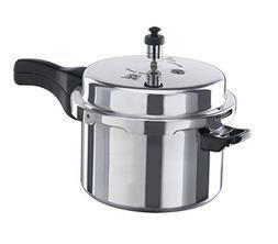 Vinod VA-10L Aluminum Pressure Cooker, 10-Liter