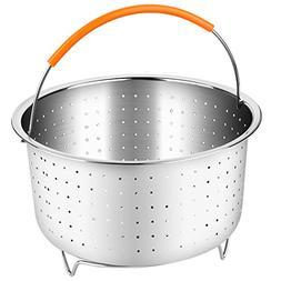 Vegetable Steamer Basket for 6 or 8 Quart Pressure Cooker Ac