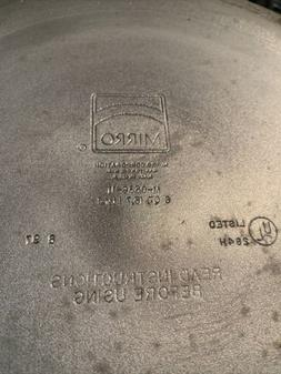 Vintage MIRRO Aluminum Pressure Cooker M-0536-11,6qt Made in