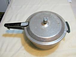 Vintage Mirro Cast Aluminum M 0436 6 Quart Pressure Cooker C