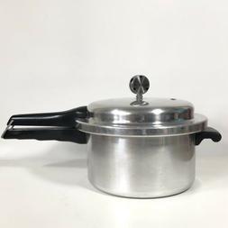 Vintage MIRRO-MATIC Aluminum 4 Qt Pressure Cooker 394M Made