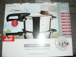 Fissler Vitavit Premium 6 L + 2.5 L Pressure Cooker Set NEW
