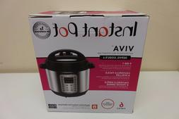 Instant Pot Viva 6 Quart 9-in-1 Multi-Use Pressure Cooker Ea