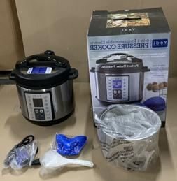 Yedi, 9-in-1 Programable Electric Pressure Cooker, 6 Quart,